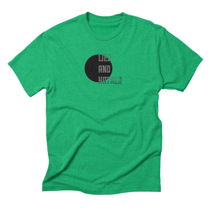 Lies and Hatred v1 Men's Triblend T-Shirt by lostsigil's Artist Shop