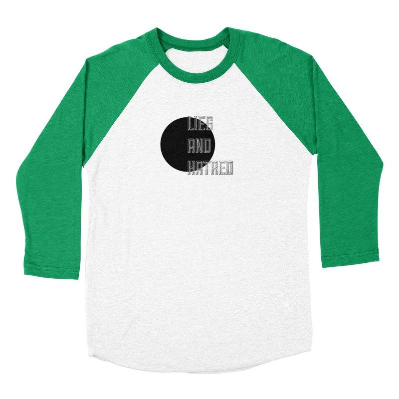 Lies and Hatred v1 Women's Baseball Triblend Longsleeve T-Shirt by lostsigil's Artist Shop