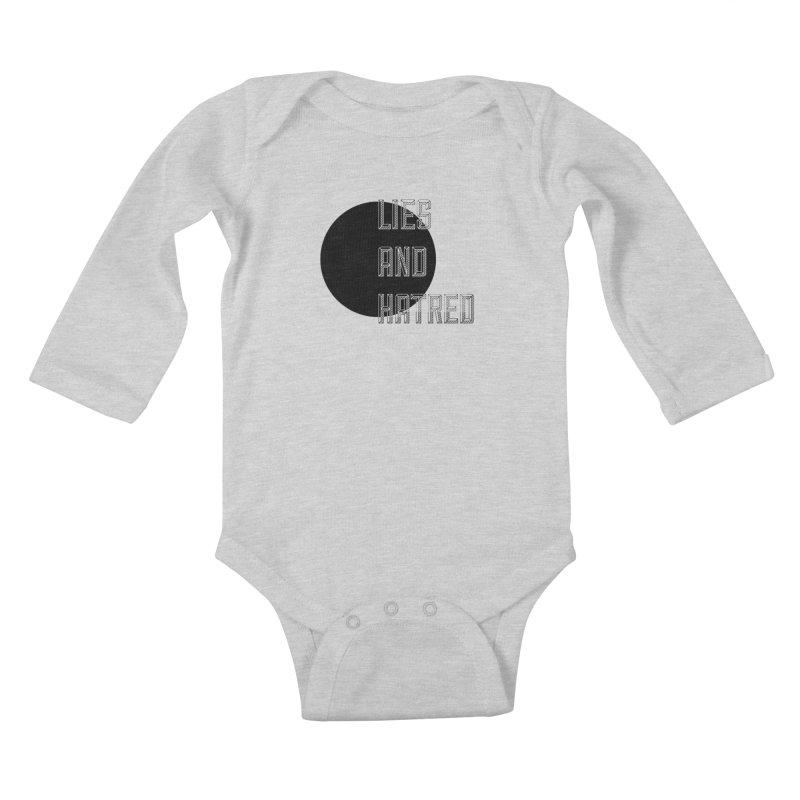 Lies and Hatred v1 Kids Baby Longsleeve Bodysuit by lostsigil's Artist Shop