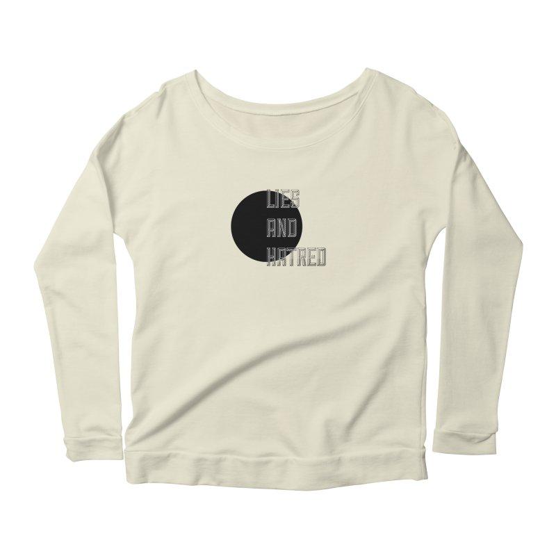 Lies and Hatred v1 Women's Scoop Neck Longsleeve T-Shirt by lostsigil's Artist Shop