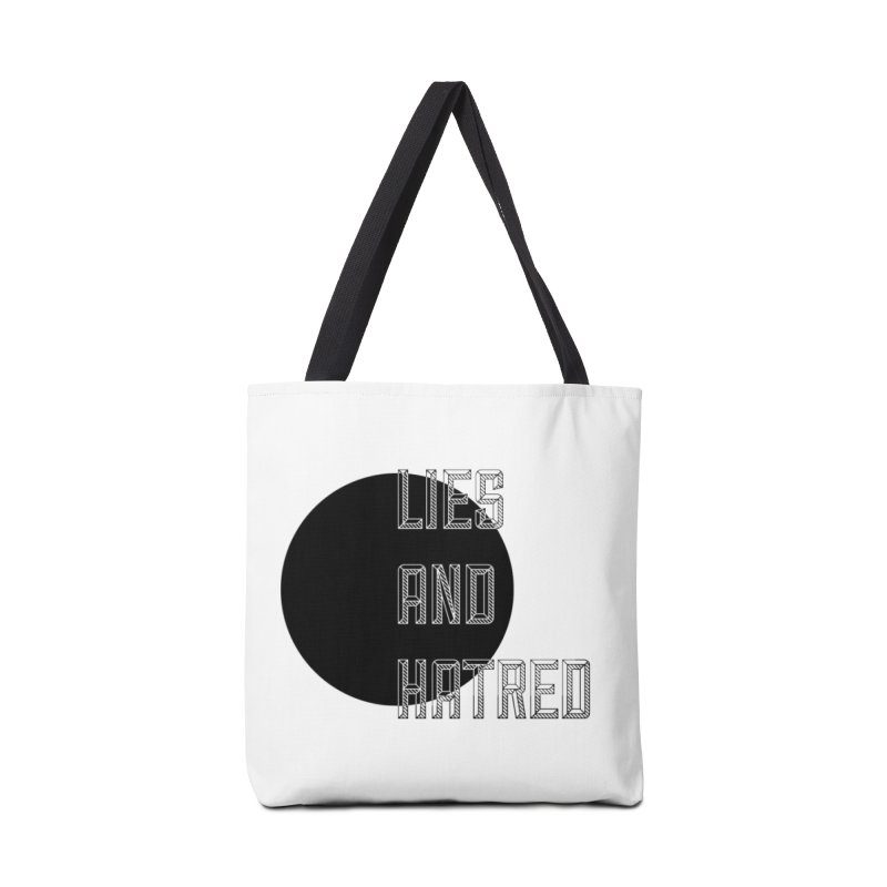 Lies and Hatred v1 Accessories Bag by lostsigil's Artist Shop