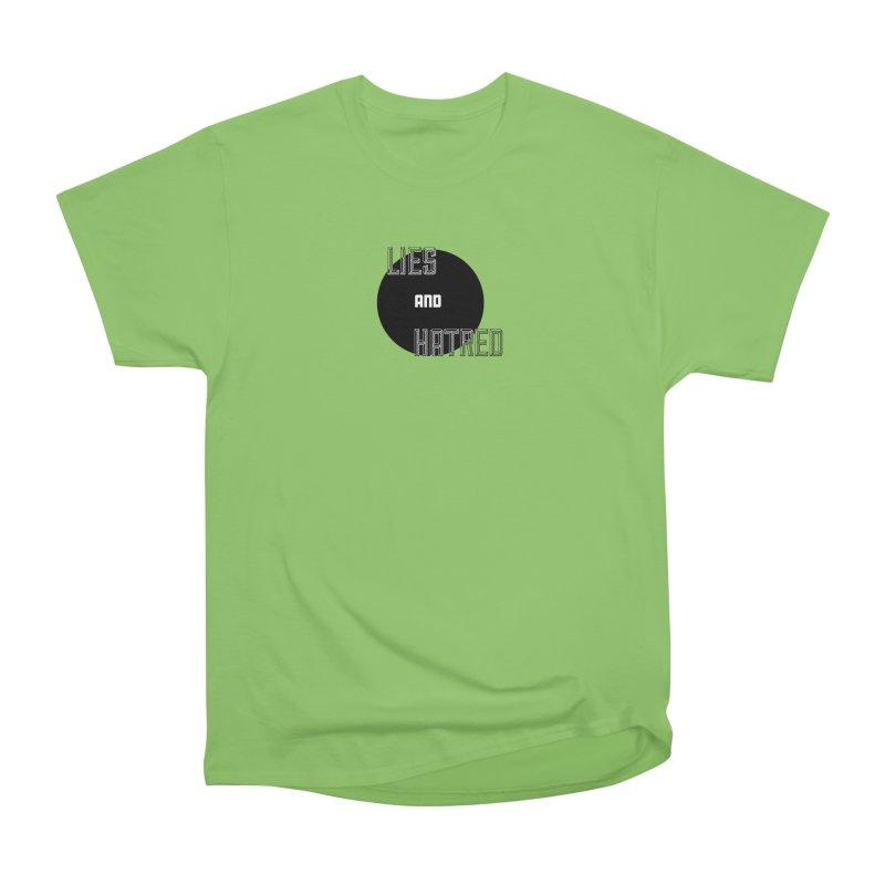 Lies and Hatred v2 Women's Heavyweight Unisex T-Shirt by lostsigil's Artist Shop