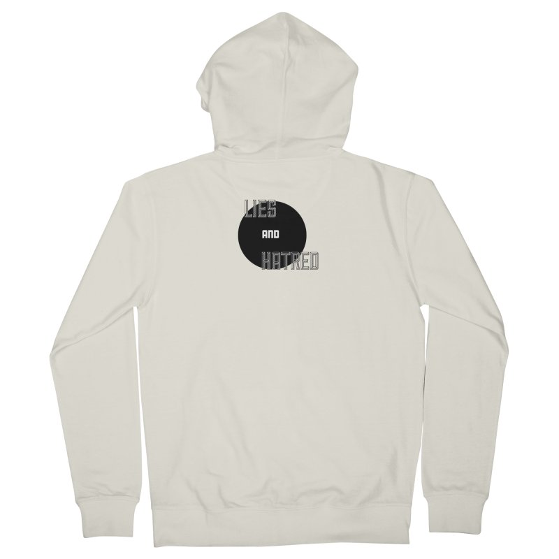 Lies and Hatred v2 Women's French Terry Zip-Up Hoody by lostsigil's Artist Shop