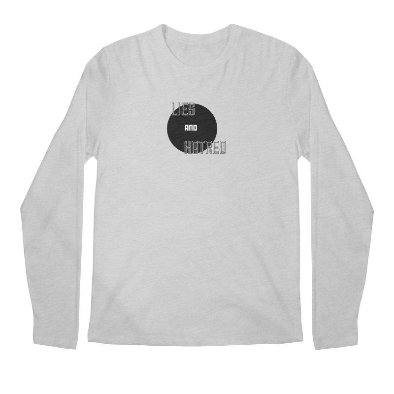 Lies and Hatred v2 Men's Regular Longsleeve T-Shirt by lostsigil's Artist Shop
