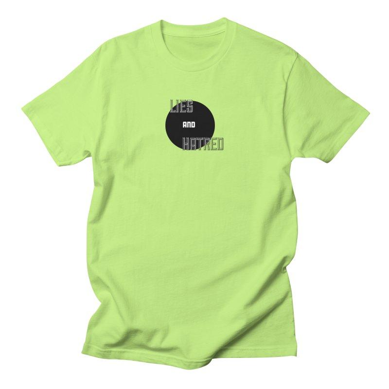 Lies and Hatred v2 Men's Regular T-Shirt by lostsigil's Artist Shop