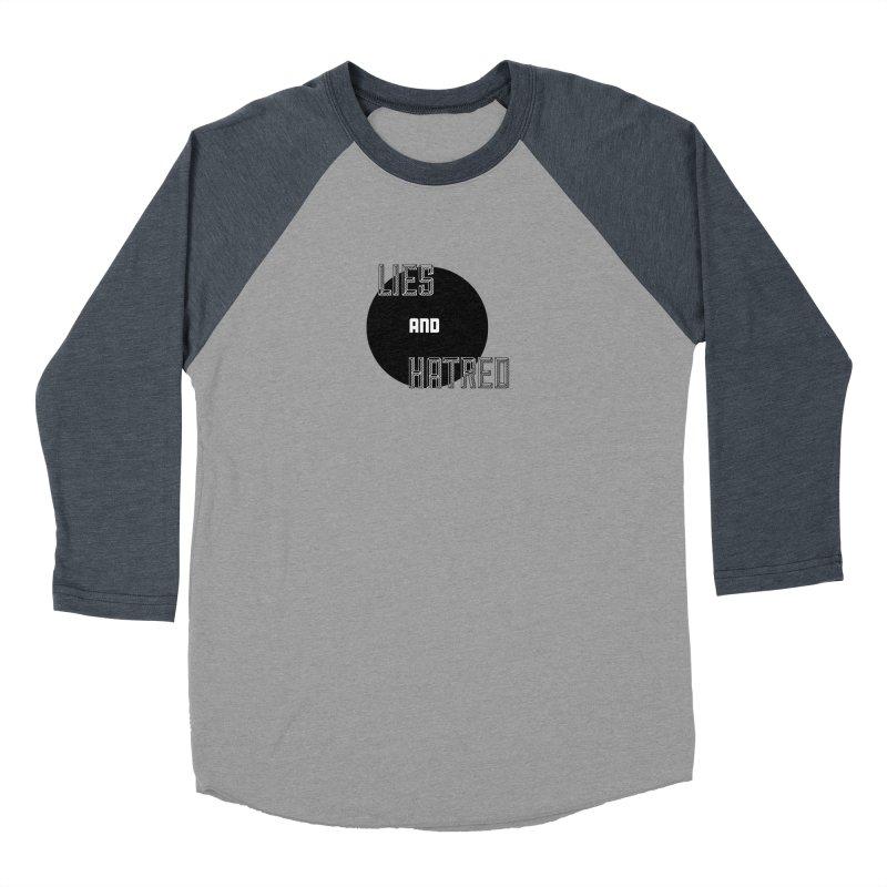 Lies and Hatred v2 Women's Baseball Triblend Longsleeve T-Shirt by lostsigil's Artist Shop