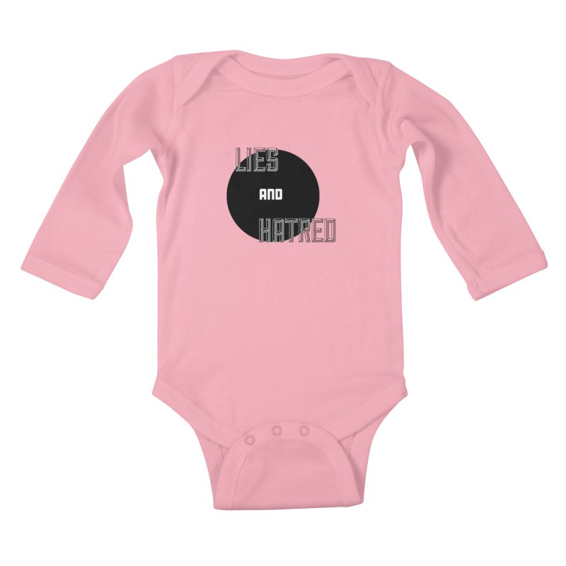 Lies and Hatred v2 Kids Baby Longsleeve Bodysuit by lostsigil's Artist Shop