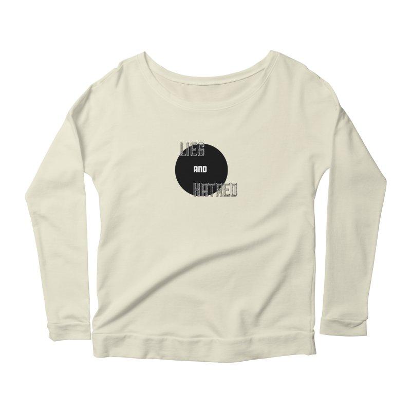 Lies and Hatred v2 Women's Scoop Neck Longsleeve T-Shirt by lostsigil's Artist Shop