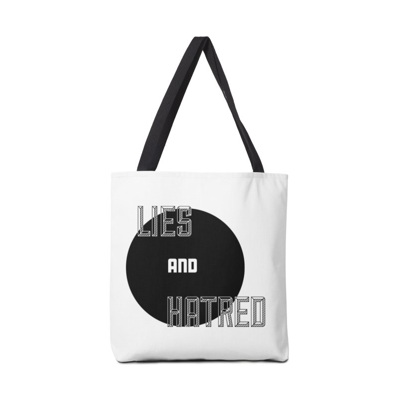 Lies and Hatred v2 Accessories Bag by lostsigil's Artist Shop