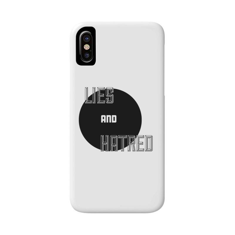 Lies and Hatred v2 Accessories Phone Case by lostsigil's Artist Shop