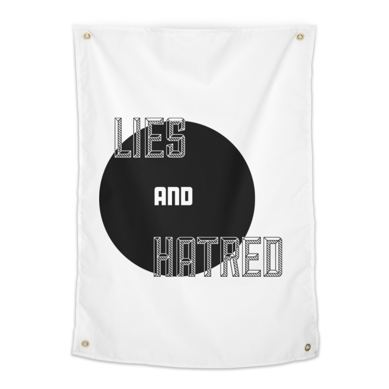 Lies and Hatred v2 Home Tapestry by lostsigil's Artist Shop