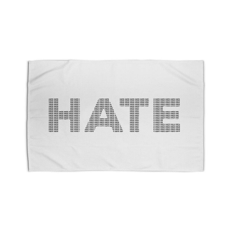 Hate v1 Home Rug by lostsigil's Artist Shop
