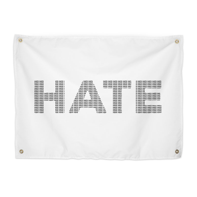 Hate v1 Home Tapestry by lostsigil's Artist Shop