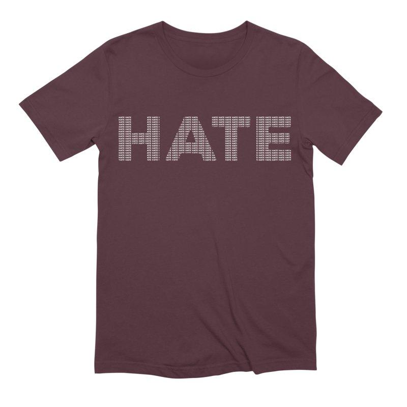 Hate v2 Men's Extra Soft T-Shirt by lostsigil's Artist Shop