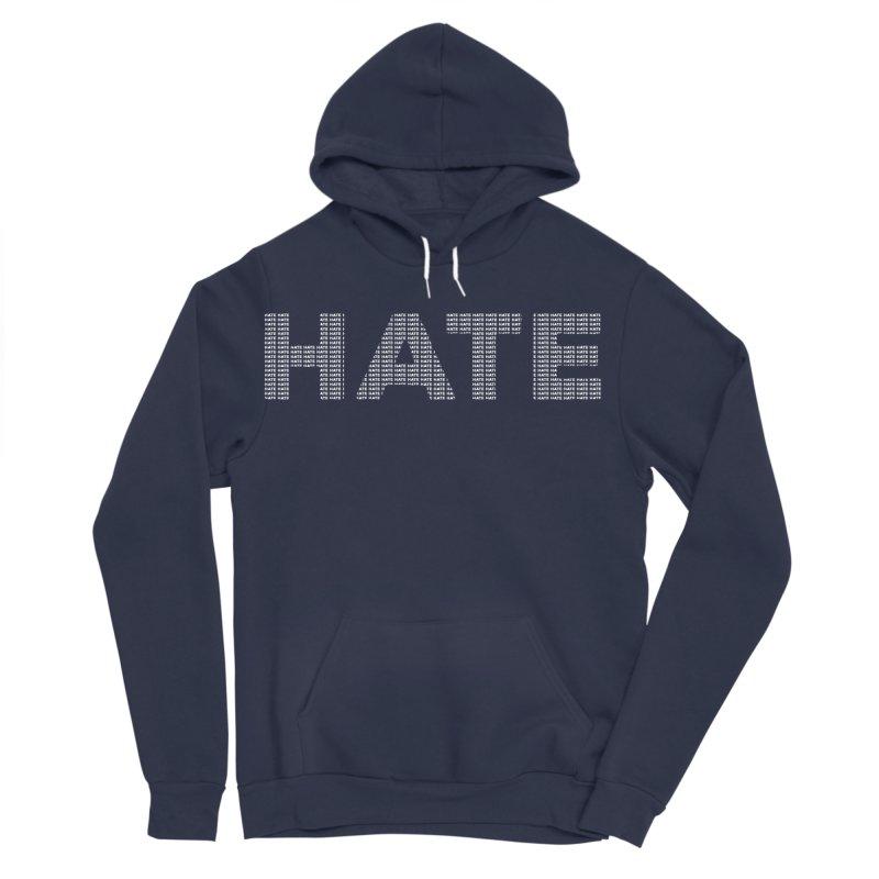 Hate v2 Men's Sponge Fleece Pullover Hoody by lostsigil's Artist Shop