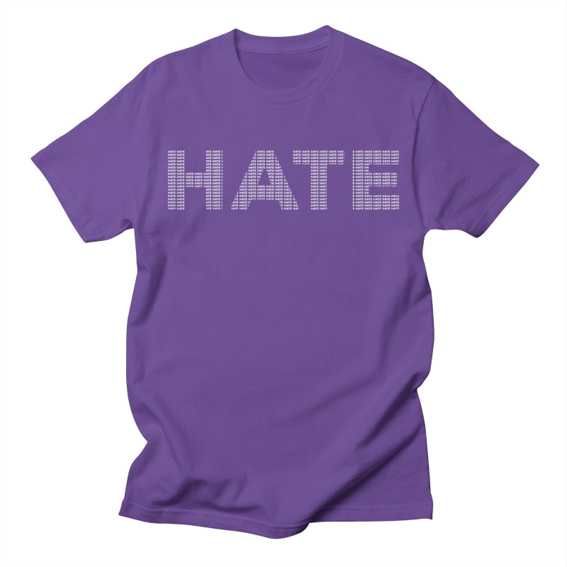 Hate v2 Women's Regular Unisex T-Shirt by lostsigil's Artist Shop