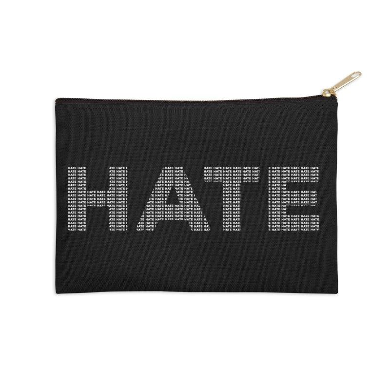 Hate v2 Accessories Zip Pouch by lostsigil's Artist Shop