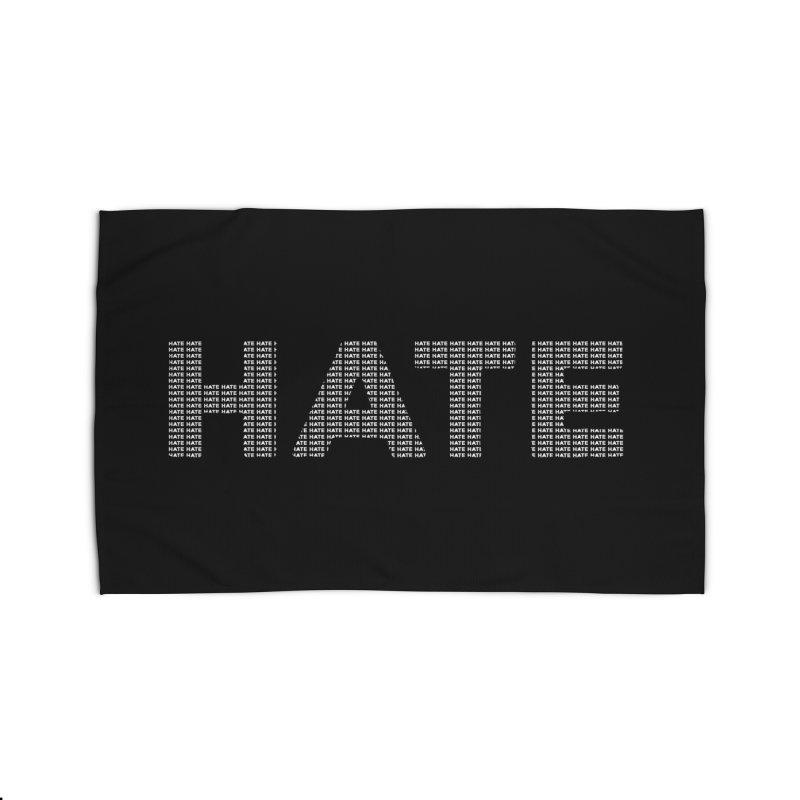 Hate v2 Home Rug by lostsigil's Artist Shop
