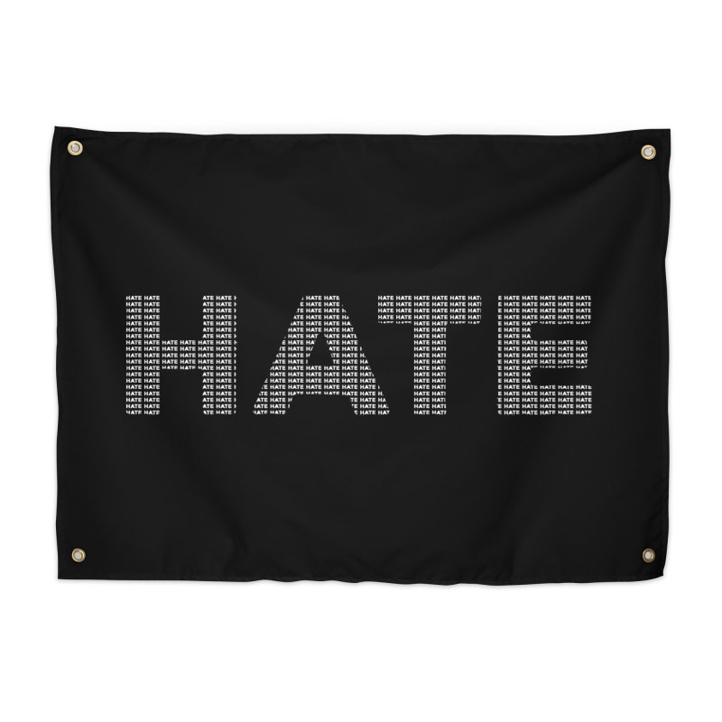 Hate v2 Home Tapestry by lostsigil's Artist Shop