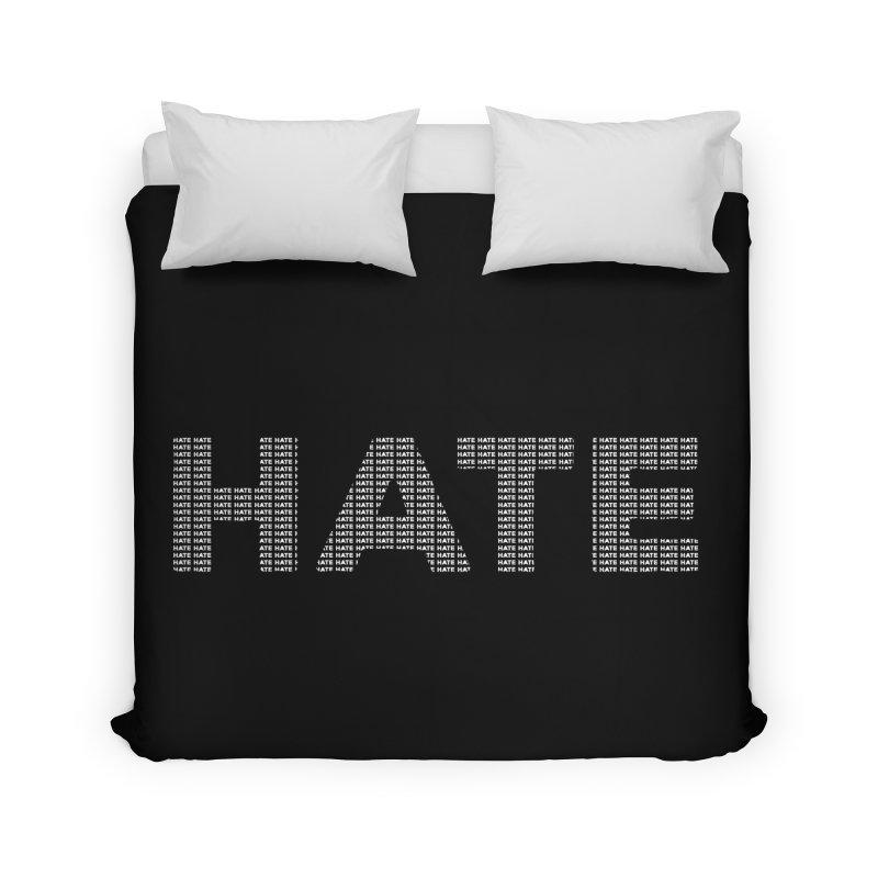 Hate v2 Home Duvet by lostsigil's Artist Shop