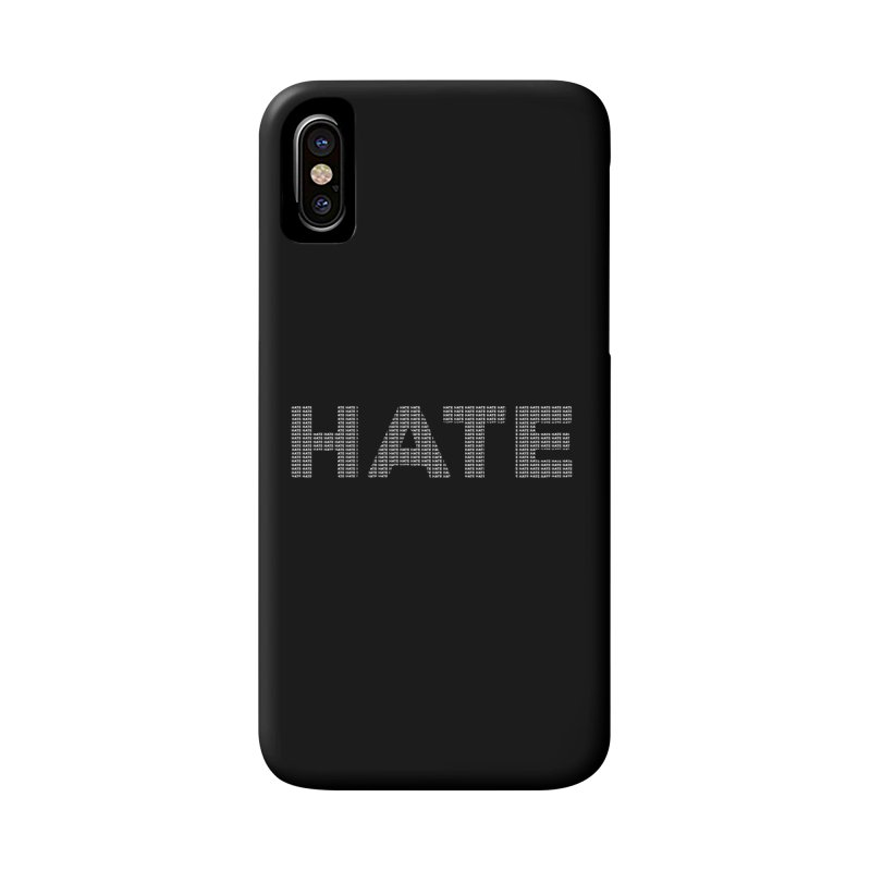 Hate v2 Accessories Phone Case by lostsigil's Artist Shop