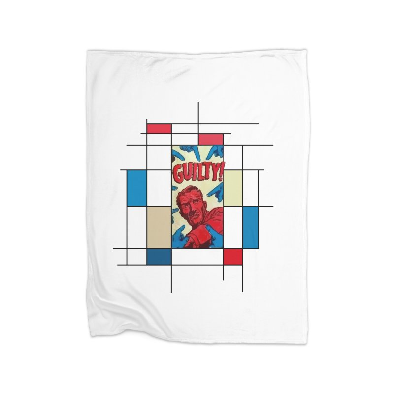 You are guilty! Home Blanket by lostsigil's Artist Shop