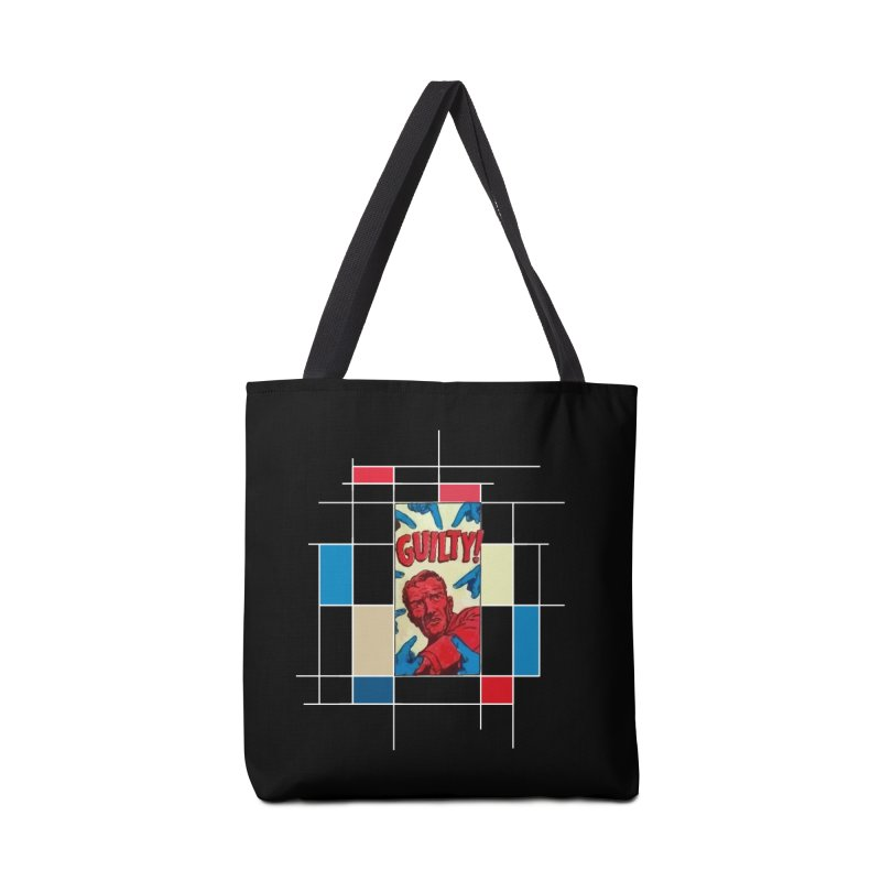 You are guilty! Dark Accessories Bag by lostsigil's Artist Shop