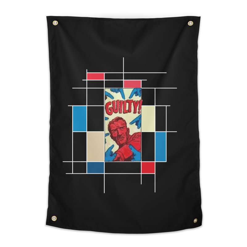 You are guilty! Dark Home Tapestry by lostsigil's Artist Shop