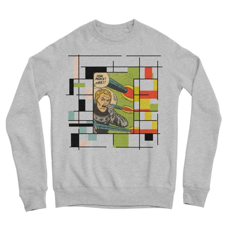 For Peace! Women's Sponge Fleece Sweatshirt by lostsigil's Artist Shop