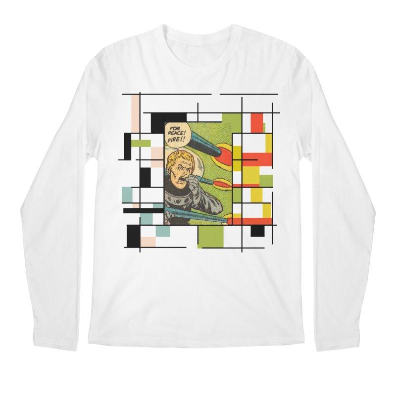 For Peace! Men's Regular Longsleeve T-Shirt by lostsigil's Artist Shop