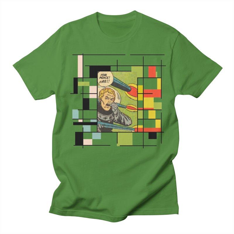 For Peace! Women's Regular Unisex T-Shirt by lostsigil's Artist Shop