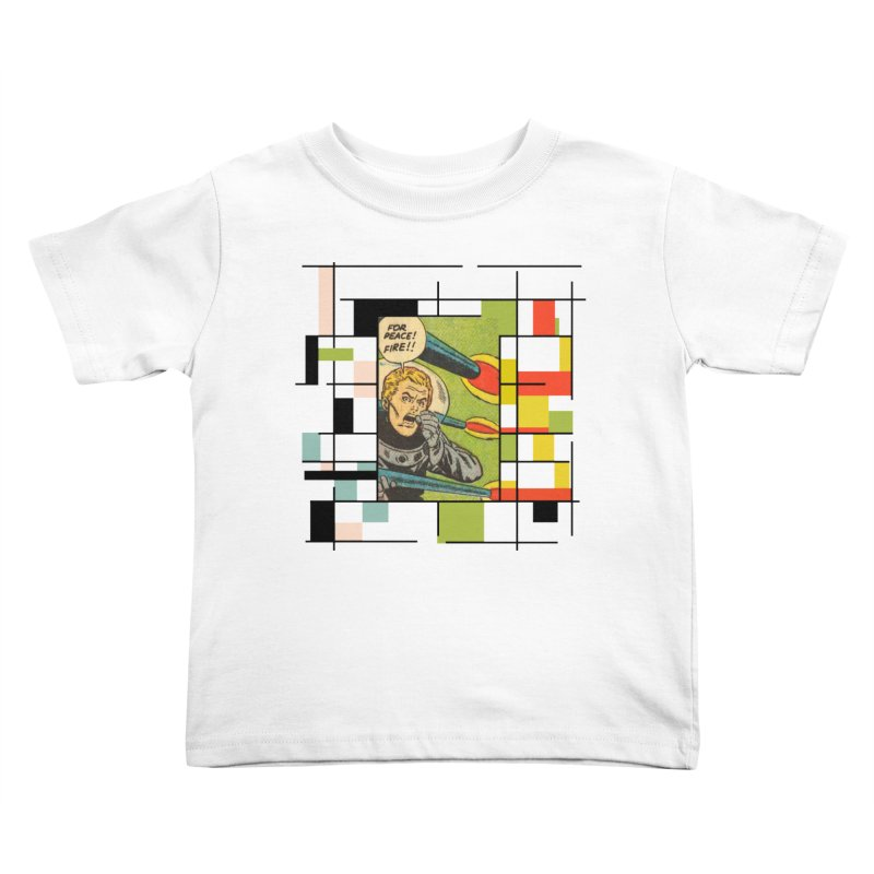 For Peace! Kids Toddler T-Shirt by lostsigil's Artist Shop