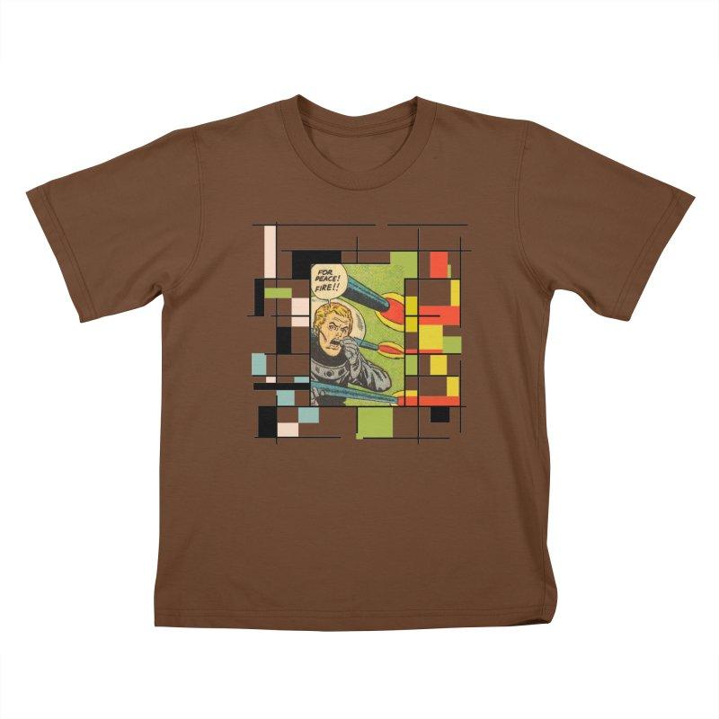 For Peace! Kids T-Shirt by lostsigil's Artist Shop