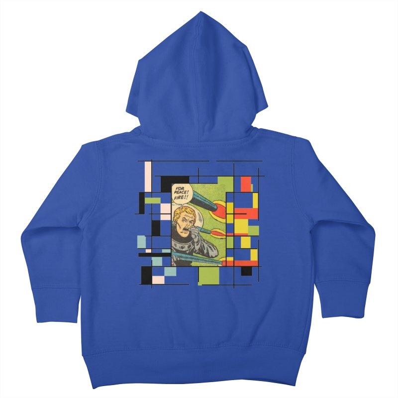 For Peace! Kids Toddler Zip-Up Hoody by lostsigil's Artist Shop
