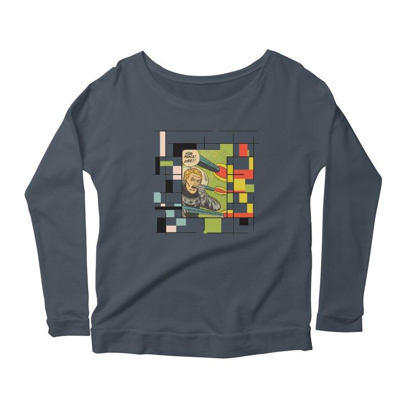 For Peace! Women's Scoop Neck Longsleeve T-Shirt by lostsigil's Artist Shop