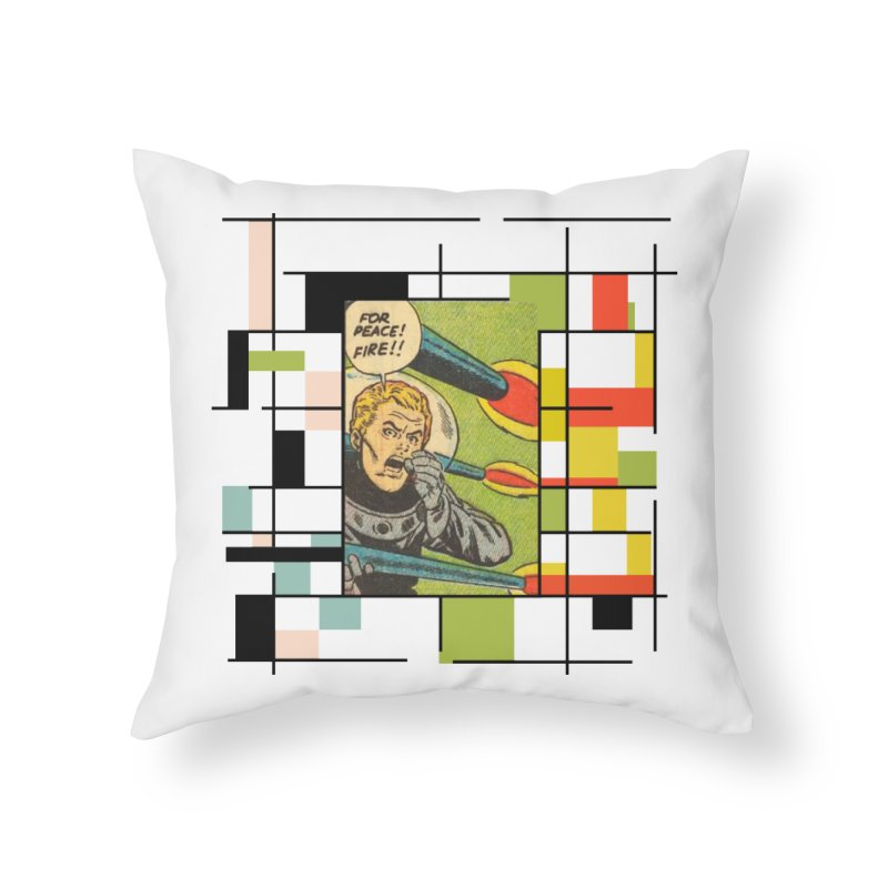 For Peace! Home Throw Pillow by lostsigil's Artist Shop