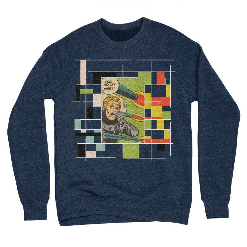 For Peace! Dark Women's Sponge Fleece Sweatshirt by lostsigil's Artist Shop