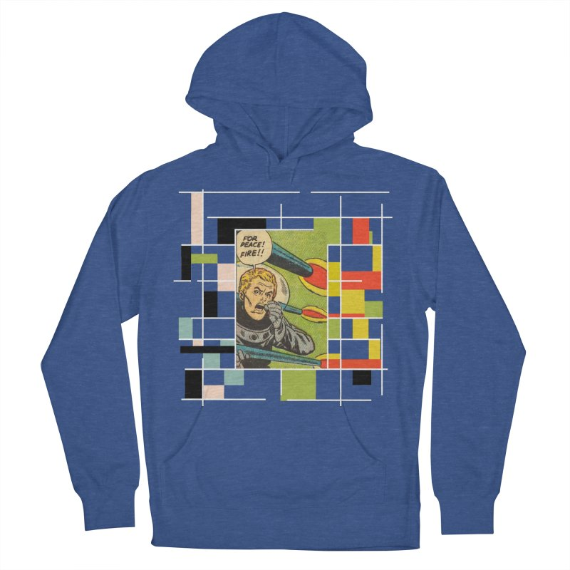 For Peace! Dark Women's French Terry Pullover Hoody by lostsigil's Artist Shop