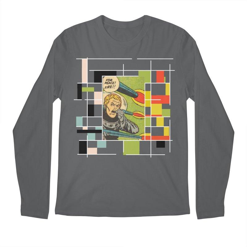 For Peace! Dark Men's Regular Longsleeve T-Shirt by lostsigil's Artist Shop