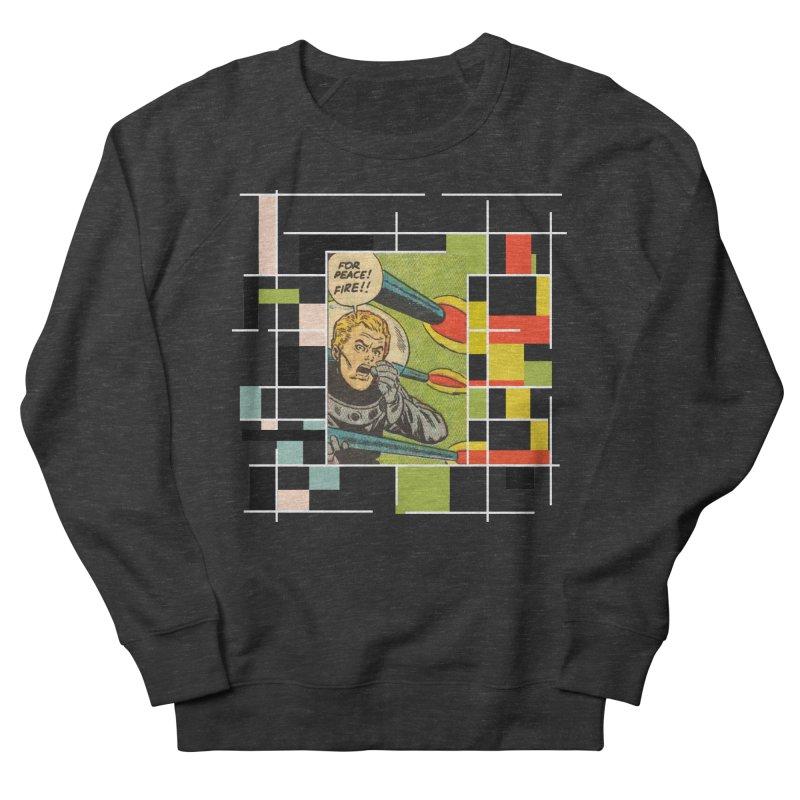 For Peace! Dark Women's French Terry Sweatshirt by lostsigil's Artist Shop