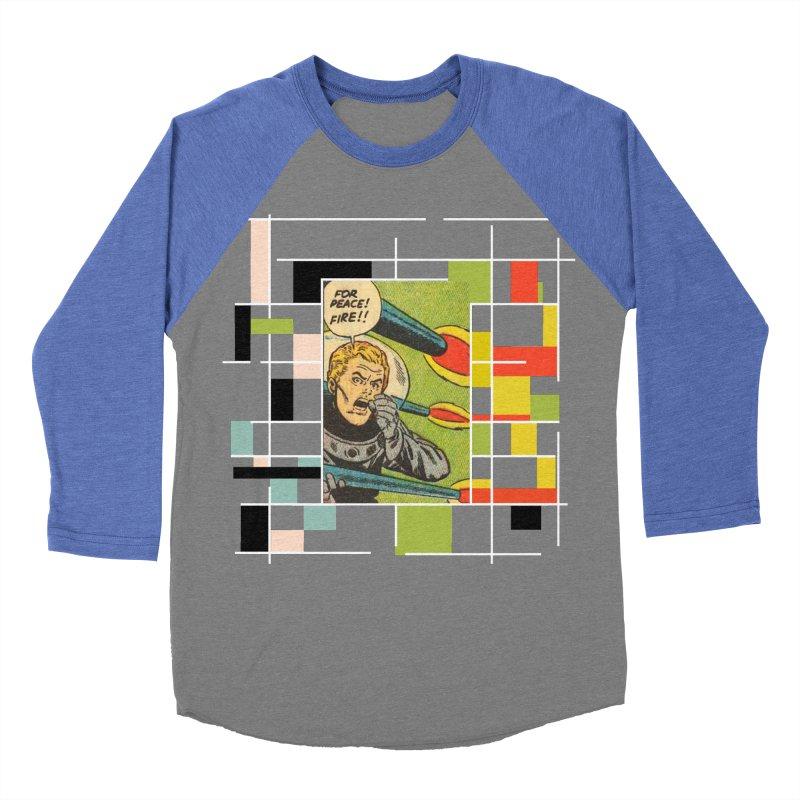 For Peace! Dark Men's Baseball Triblend Longsleeve T-Shirt by lostsigil's Artist Shop