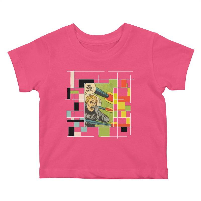 For Peace! Dark Kids Baby T-Shirt by lostsigil's Artist Shop