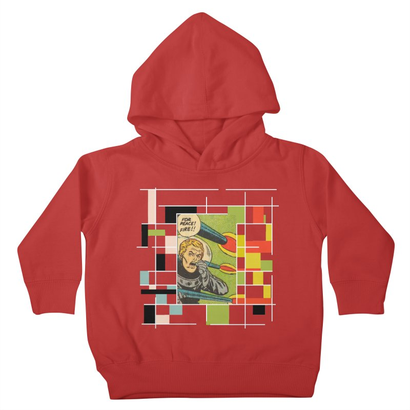 For Peace! Dark Kids Toddler Pullover Hoody by lostsigil's Artist Shop