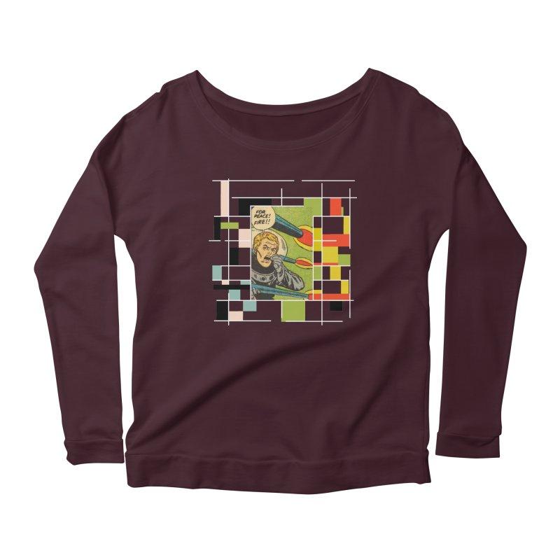 For Peace! Dark Women's Scoop Neck Longsleeve T-Shirt by lostsigil's Artist Shop