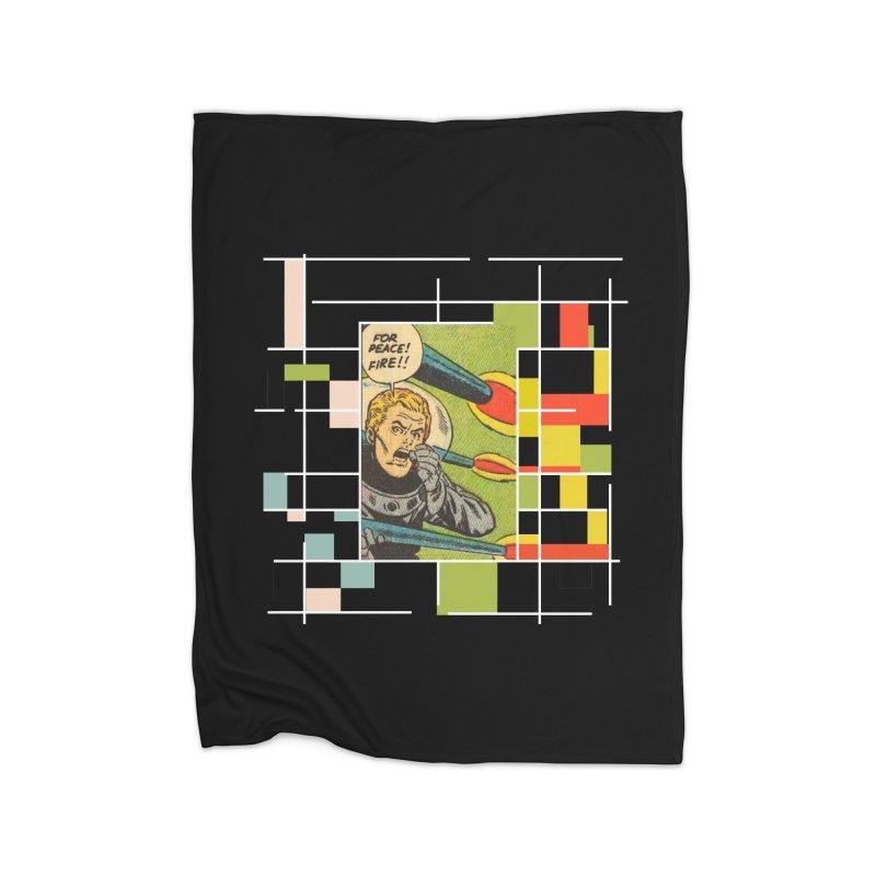 For Peace! Dark Home Blanket by lostsigil's Artist Shop