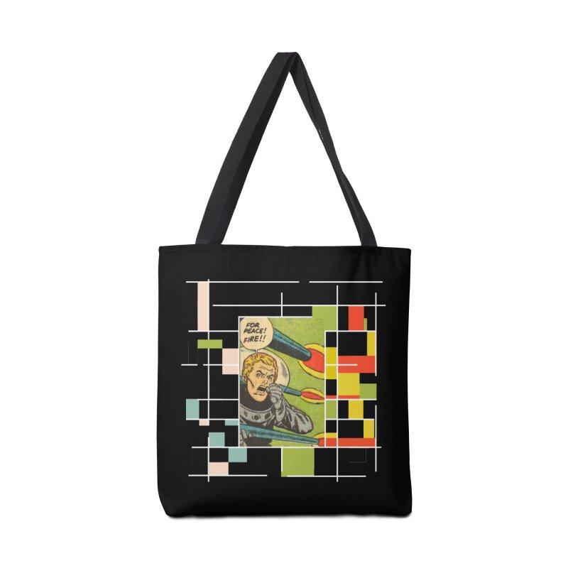 For Peace! Dark Accessories Bag by lostsigil's Artist Shop