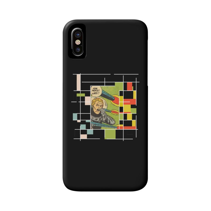 For Peace! Dark Accessories Phone Case by lostsigil's Artist Shop