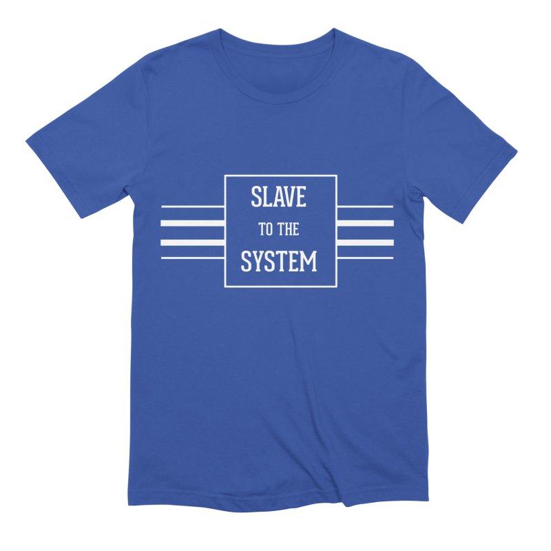 Slave to the System Dark Men's Extra Soft T-Shirt by lostsigil's Artist Shop