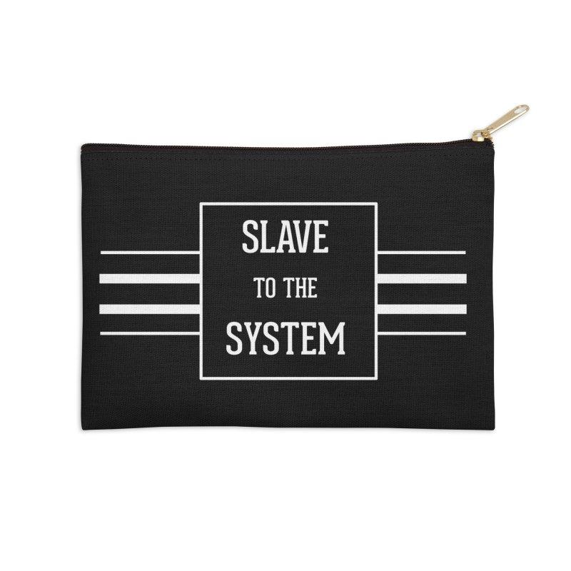 Slave to the System Dark Accessories Zip Pouch by lostsigil's Artist Shop