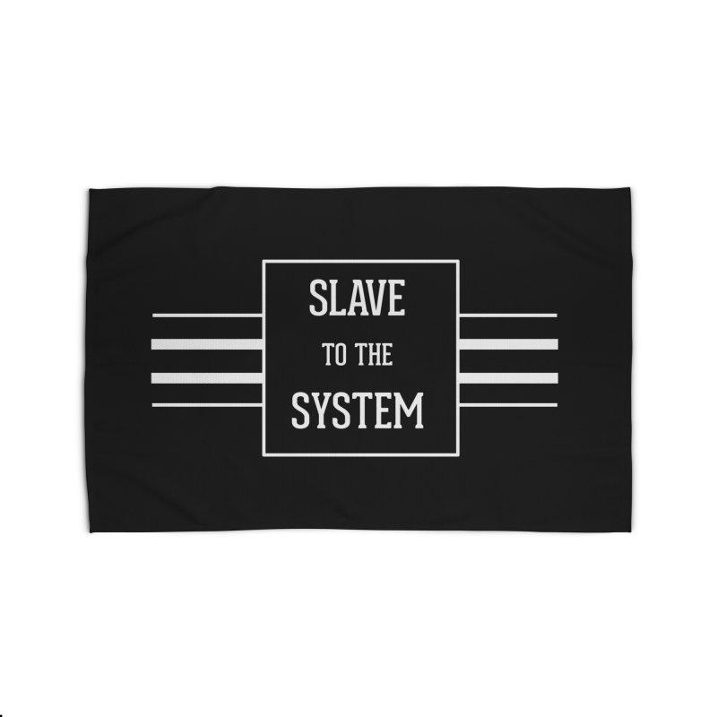 Slave to the System Dark Home Rug by lostsigil's Artist Shop